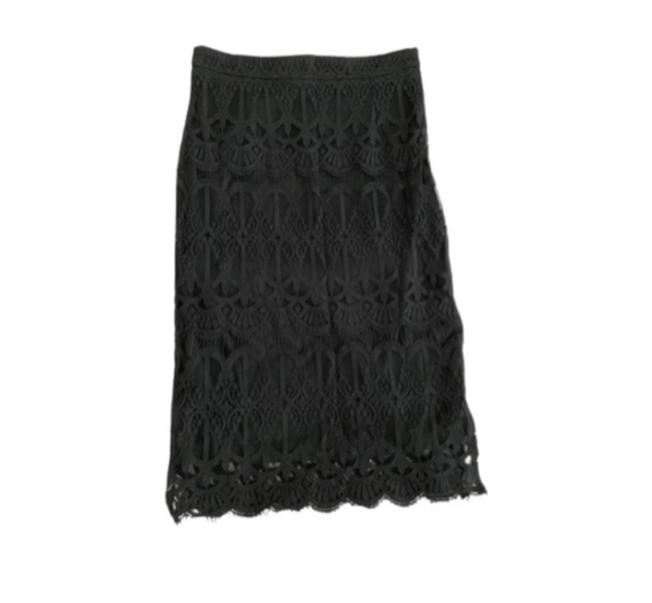 Used Black Lace Skirt in Dubai, UAE