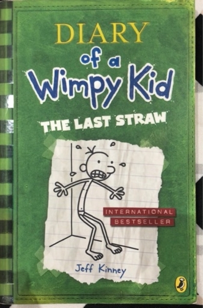 Used Diary Of A Wimpy Kid The Last Straw book in Dubai, UAE