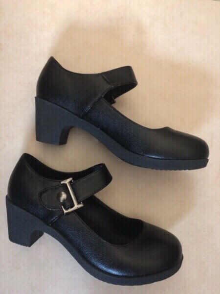 Used Black shoes size 23.5 cm size 37 / EU 36 in Dubai, UAE