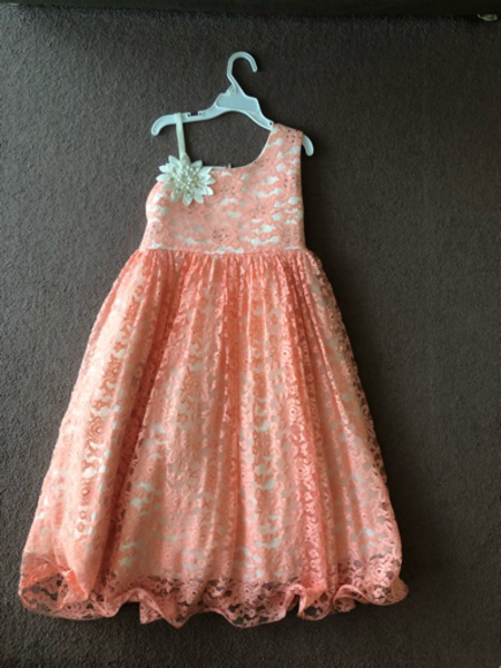 Used Party dress for a girl age 9-10 years ol in Dubai, UAE