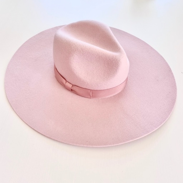 Used Lack of Colors Pink Fedora hat w/ tags in Dubai, UAE