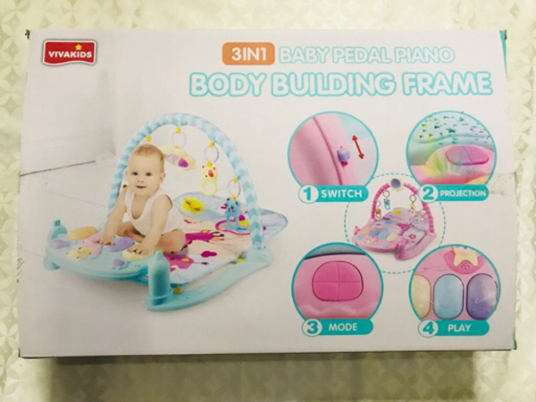 Used Baby mat with music and toys in Dubai, UAE
