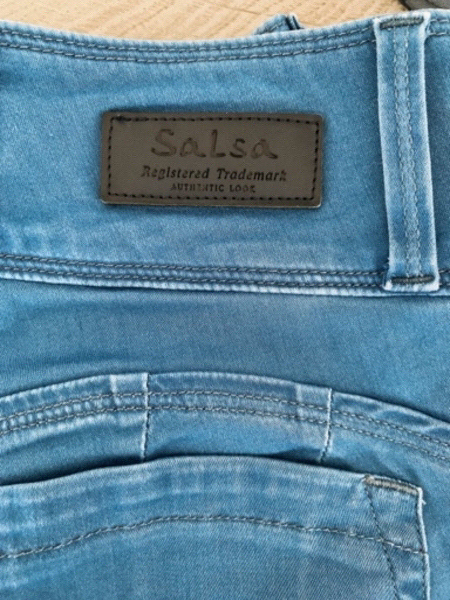 Used Womens jeans Salsa with push up effect in Dubai, UAE