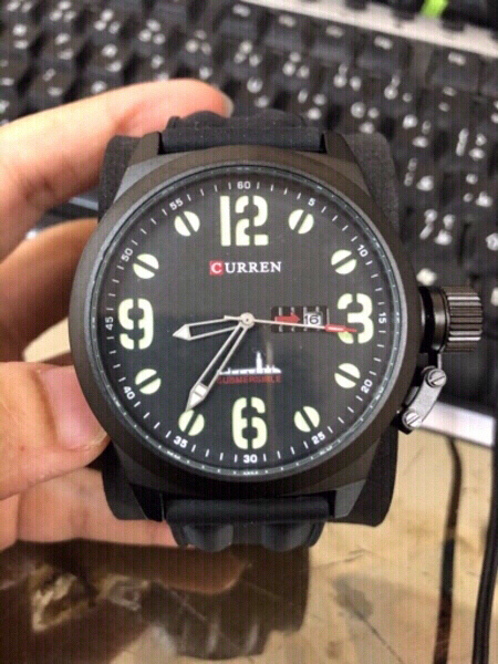 Used men army watch black in Dubai, UAE