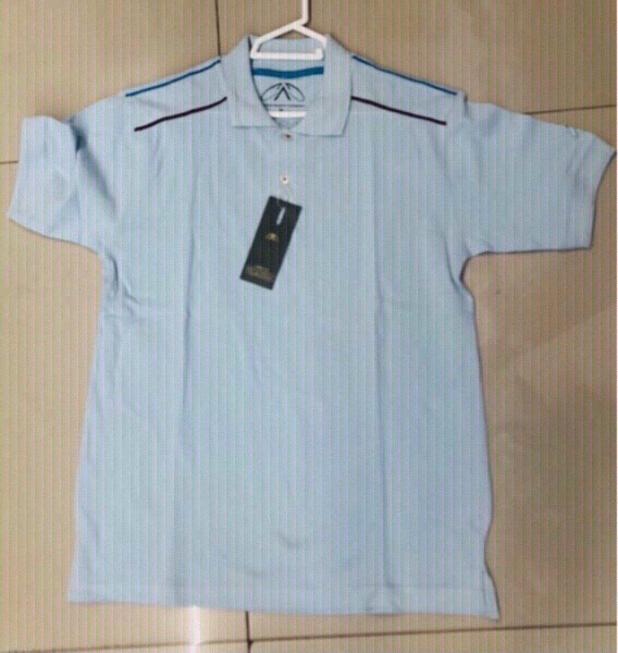 Used 2 Polo Shirt Plain Cotton  /Medium ♥️ in Dubai, UAE