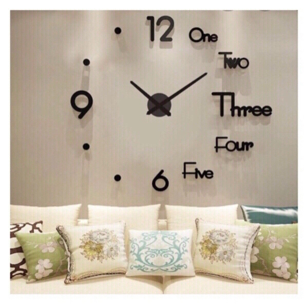 Used Creative Wall Clock Red in Dubai, UAE