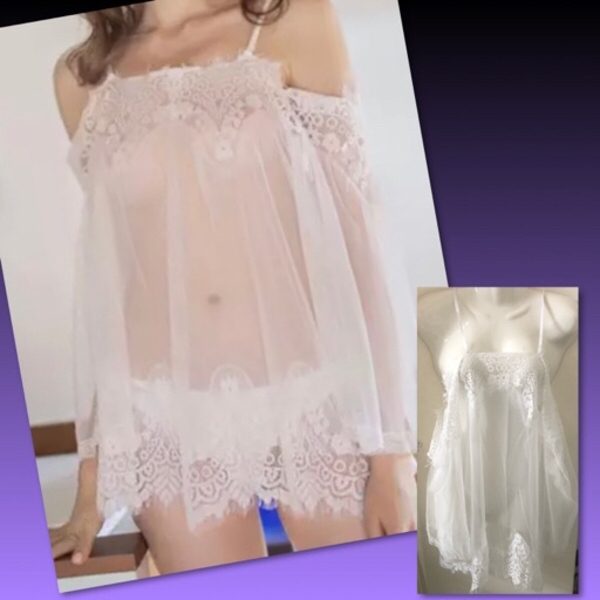 Used SEXY NIGHT DRESS/FREESIZE in Dubai, UAE
