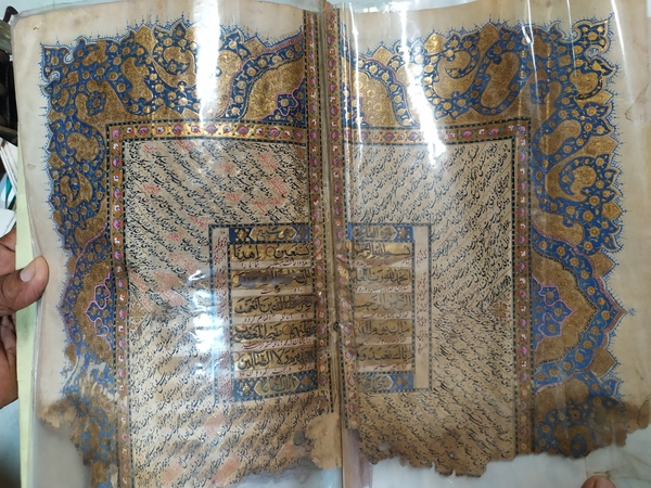 Used 600 year old hand written Quran in Dubai, UAE