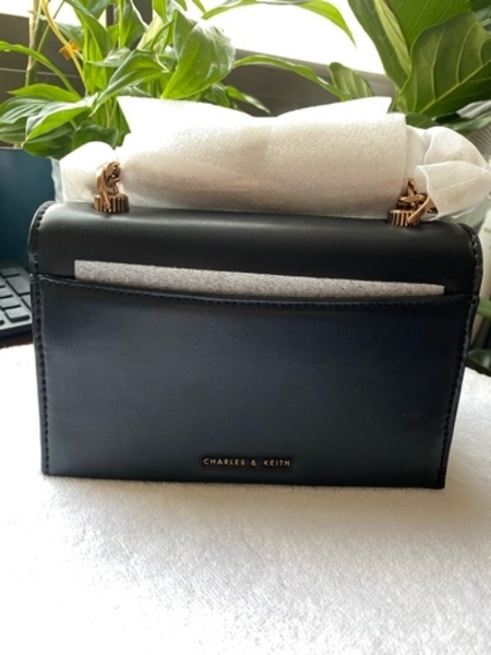 Used 💯 Authentic Charles and Keith sling bag in Dubai, UAE