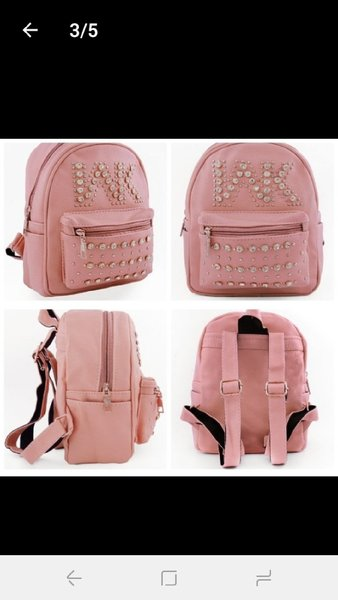 Used New cute pink backpack for girls in Dubai, UAE