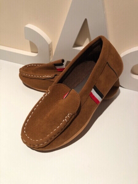 Used Loafers Suede Pu leather size 35 in Dubai, UAE