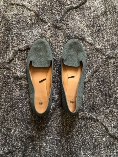 Used H&M Grey Flats in Dubai, UAE