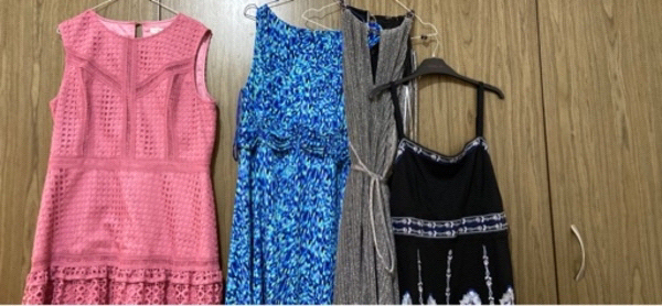 Used Bundle of 5 dresses in Dubai, UAE
