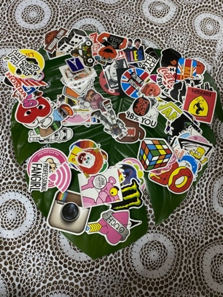 Used Graffiti stickers in Dubai, UAE