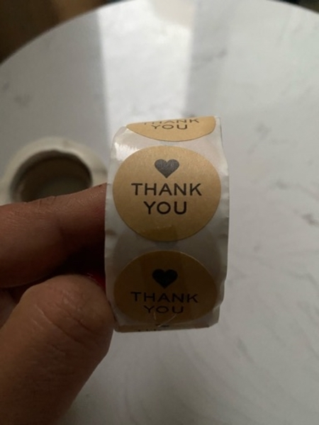 Used Thank You - Stickers - Set of 2 in Dubai, UAE
