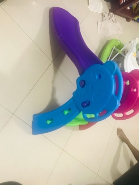 Used Kids slide perfect in and out in Dubai, UAE