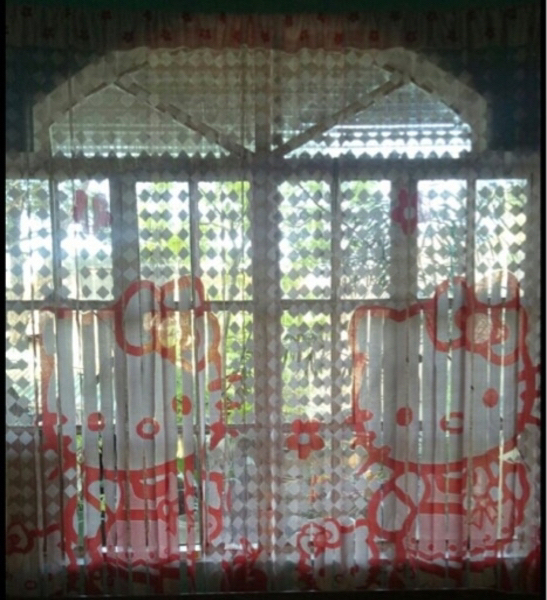 Used Hello kitty lace curtain in Dubai, UAE