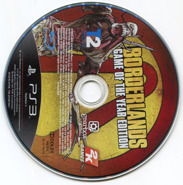 Used Borderlands: Game of the Year Edtn [PS3] in Dubai, UAE