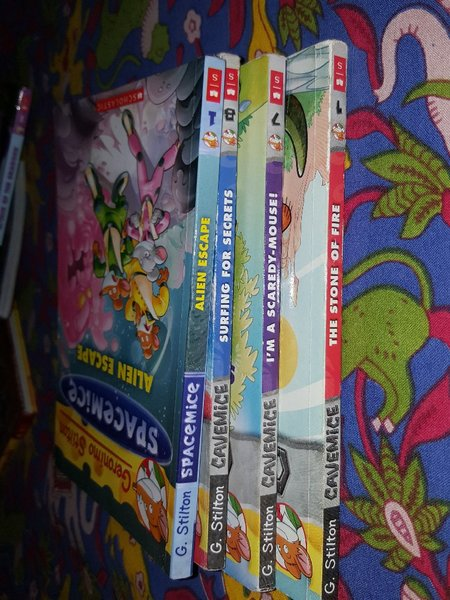 Used Geronimo stilton special edition books in Dubai, UAE