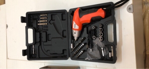 Used 45pcs-Cordless screwdriver in Dubai, UAE