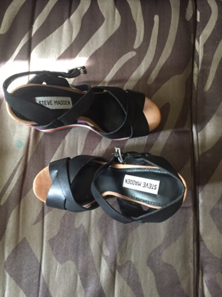 Used Steve Madden wedge size 36 in Dubai, UAE