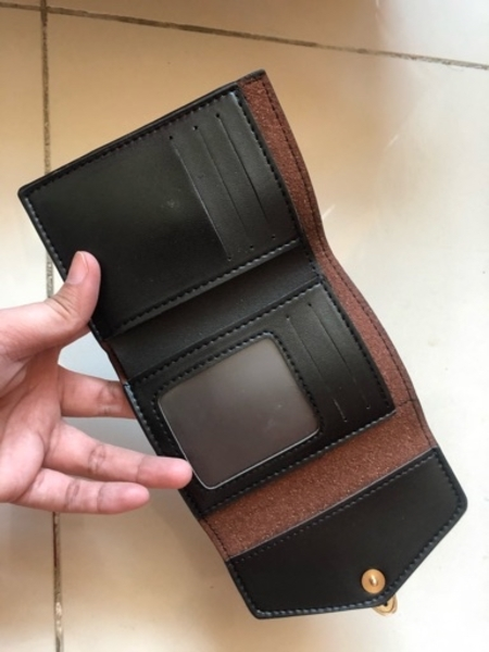 Used New bvlgari leather wallet in Dubai, UAE