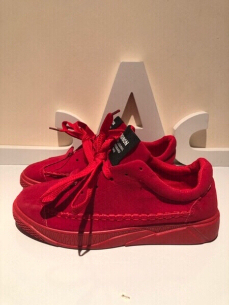 Used Red sport shoes size 39 in Dubai, UAE