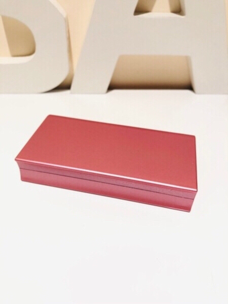 Used Jewelry ring box with rose pink in Dubai, UAE