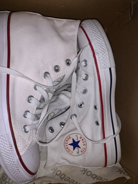 Used Converse High Tops Sneakers in White in Dubai, UAE
