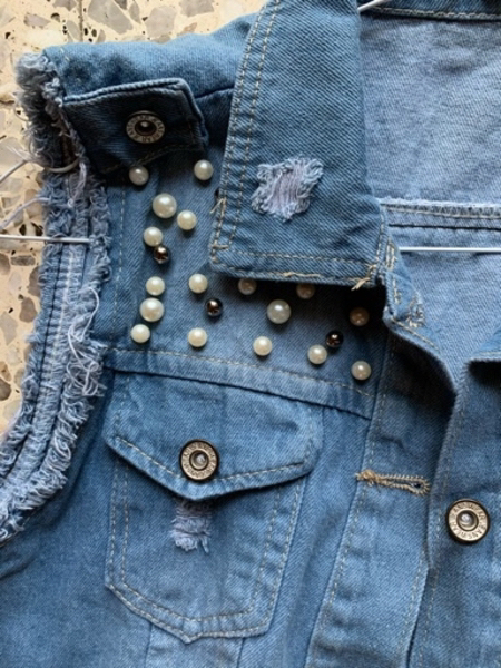 Used Classic denim vest in Dubai, UAE