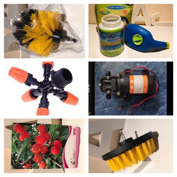 Used Water Pump & nozzles & 2 brushes and... in Dubai, UAE