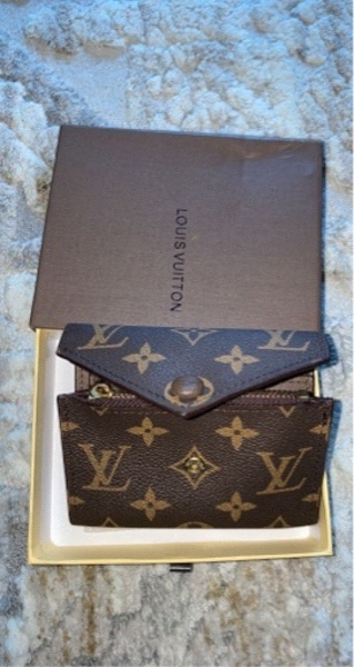 Used LV trifold small wallet in Dubai, UAE