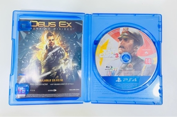 Used Just Cause 3 (PS4) in Dubai, UAE