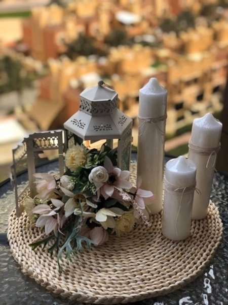 Used Ramadan decoration centerpiece in Dubai, UAE
