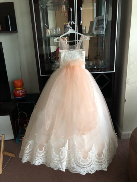 Used Party dress for a girl age 9 years old in Dubai, UAE