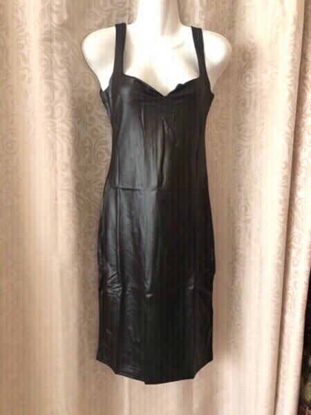 Used Bandage bodycon slim dress size M black in Dubai, UAE