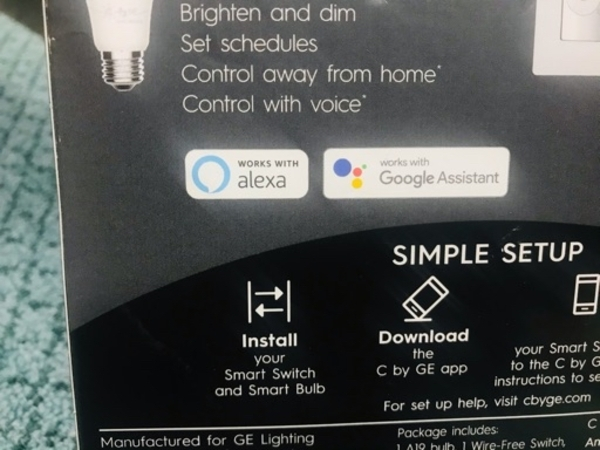 Used Smart Bulb by GE for sale brand new in Dubai, UAE
