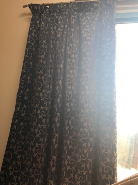 Used Curtains with pillow covers in Dubai, UAE