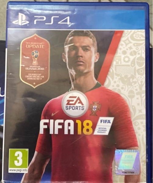 Used FIFA 18 ps4 70 without delivery in Dubai, UAE