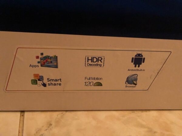 Used 58 inch LED TV, Android, 4K in Dubai, UAE