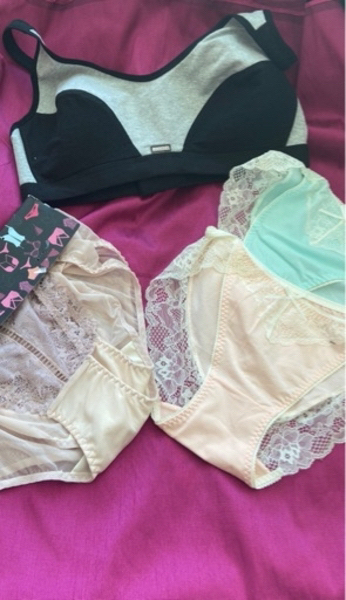 Used Lingerie set of 5 pieces free size and in Dubai, UAE
