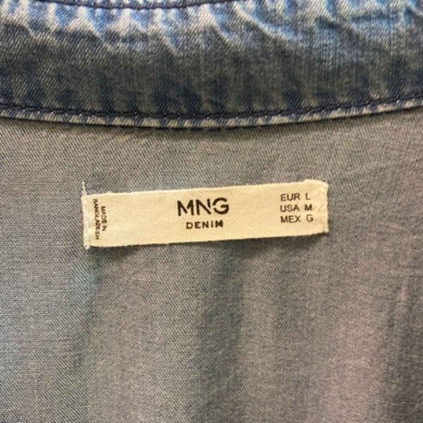 Used Mango Medium Denim Dress in Dubai, UAE