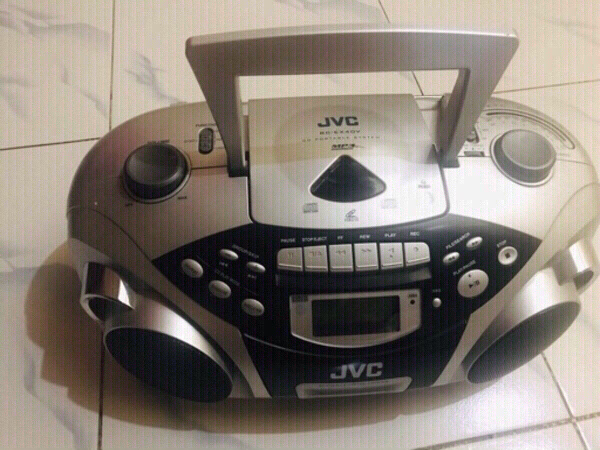 Used JVC RA-EX 40V Compact Cassette/CD  💙 in Dubai, UAE