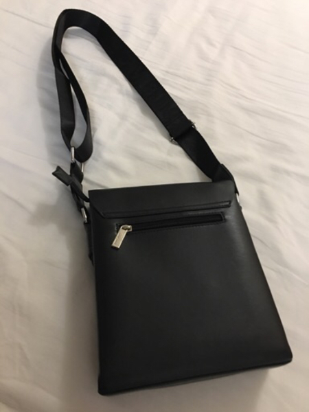 Used Black MontBlanc Bag, New in Dubai, UAE