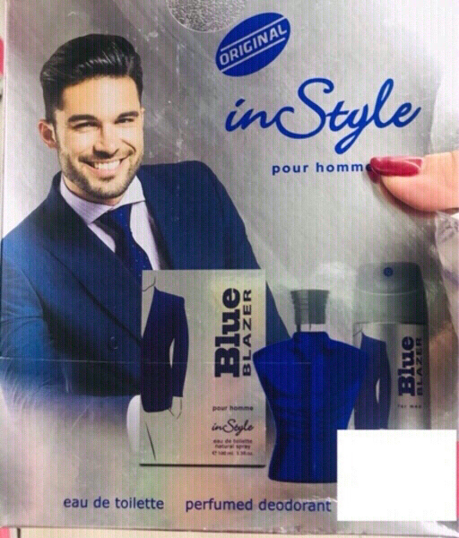 Used Instyle Blue Blazer Set for Men ♥️ in Dubai, UAE
