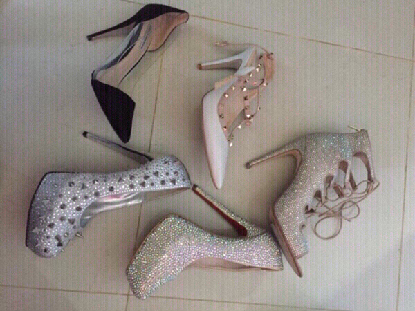 Used original heels, 40 (orig price 3000+) in Dubai, UAE