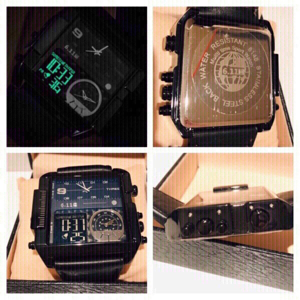 Used Quartz 6.11 multi 3 time Zone watch in Dubai, UAE