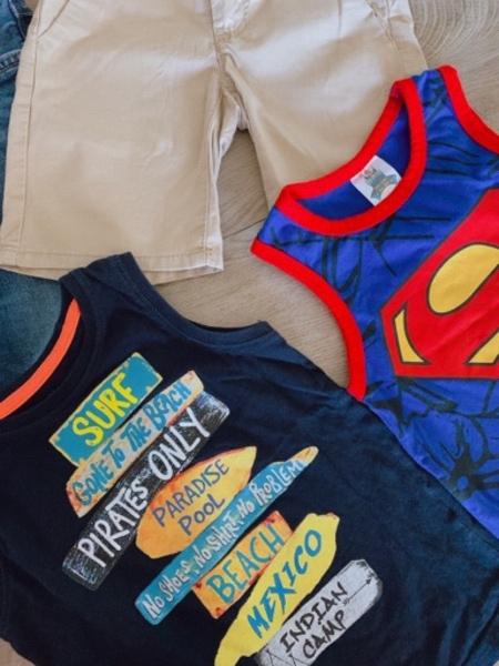 Used Set for boy (4 pieces) 4-5 years in Dubai, UAE