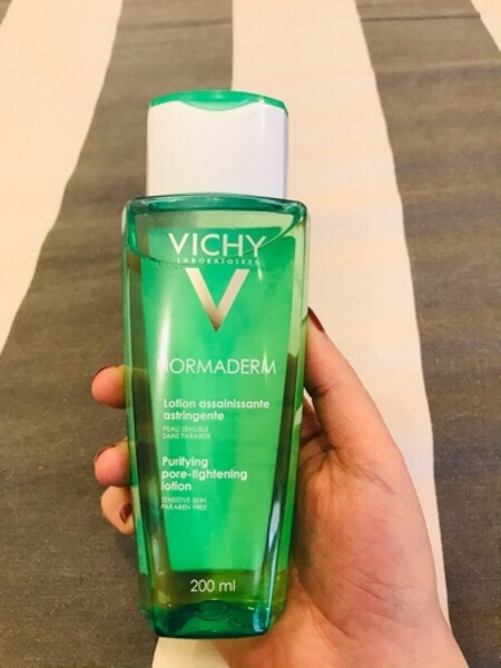 Used Vichy normaderm purifying lotion, 200 ml in Dubai, UAE
