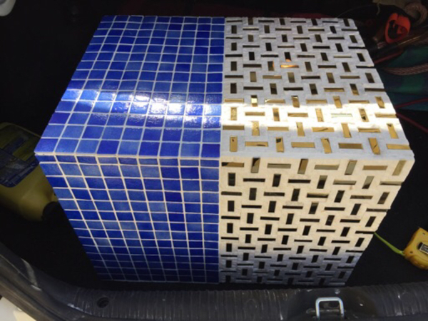 Used mosaic planter in Dubai, UAE